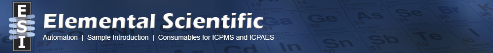 Elemental Scientific - Automation | Sample Introduction | Consumables for ICPMS & ICPAES